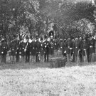 New 5x7 Civil War Photo: Post Band at Fortress Monroe, Virginia 1864