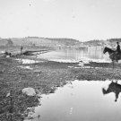 New 5x7 Civil War Photo: Pontoon Across the Potomac River, Antietam - Sharpsburg