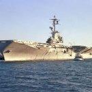 New 5x7 Photo: (AVT 16) USS LEXINGTON Ship Docked at Naval Air Station
