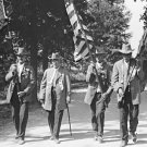 New 5x7 Civil War Photo: GAR & UCV March with Flags at Gettysburg Reunion, 1913