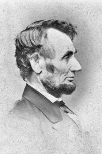 New 5x7 Photo: 1864 Profile Portrait of Abraham Lincoln by Mathew Brady