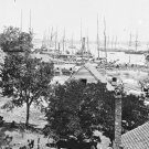 New 5x7 Civil War Photo: Army Transport on the James River at City Point
