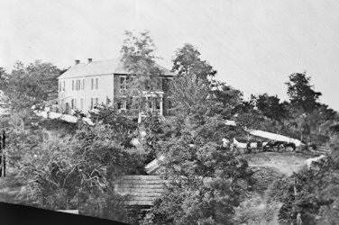 New 5x7 Civil War Photo: Joseph Hooker Headquarters at Antietam - Sharpsburg