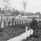 New 5x7 Civil War Photo: Soldier's National Cemetery at Alexandria, Virginia
