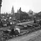 New 5x7 World War II Photo: Devastation of War in Heilbronn, Germany