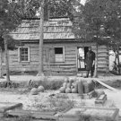 New 5x7 Civil War Photo: Chaplain Quarters in Confederate Fort Darling, Virginia
