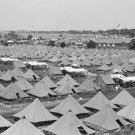 New 5x7 Civil War Photo: Veterans Encampment at 50th Gettysburg Reunion, 1913