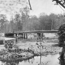 New 5x7 Civil War Photo: Bridge over Chickahominy River, Mechanicsville Road