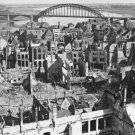 New 5x7 World War II Photo: Nijmegen city and Bridge after Bombardment, Holland