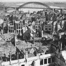 New 5x7 World War II Photo: Nijmegen city and Bridge after Bombardment, Holland