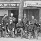 New 5x7 Civil War Photo: Union General Abrose Burnside & Men, 1st Rhode Island