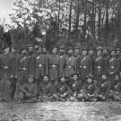 New 5x7 Civil War Photo: 149th Pennsylvania Infantry in Petersburg, Virginia