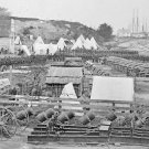 New 5x7 Civil War Photo: Union - Federal Artillery Park at Yorktown, Virginia