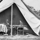 New 5x7 Civil War Photo: Abraham Lincoln & George McClellan at Antietam