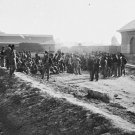 New 5x7 Civil War Photo: Confederate Prisoners at Chattanooga Depot, Tennessee