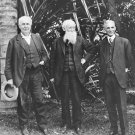 New 5x7 Photo: Thomas Edison, John Burroughs & Henry Ford in Florida
