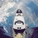 New 5x7 NASA Photo: Space Shuttle Atlantis with Earth Below, Mission STS-71