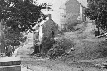 New 5x7 Civil War Photo: Street Scene at Harpers Ferry, West Virginia