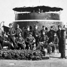 New 5x7 Civil War Photo: Officers on Deck of the Original USS MONITOR