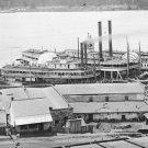 New 5x7 Civil War Photo: Steamboats & Levee on the Mississippi River, Vicksburg