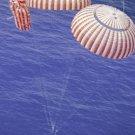 "New 5x7 NASA Photo: Apollo 15 Command Module ""Kitty Hawk"" at Splashdown"