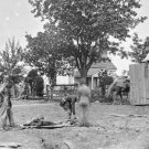New 5x7 Civil War Photo: Burial of Soldiers after Battle of Spotsylvania