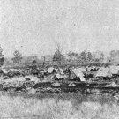 New 5x7 Civil War Photo: Federal Camp at Morganza Bend, Louisiana