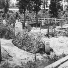 New 5x7 Civil War Photo: Grave of Union Officer in Virginia Cemetery