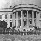 New 5x7 Civil War Photo: Federal Troops on the White House Lawn, 1861