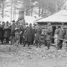 New 5x7 Civil War Photo: Union Generals Meade, Sedgwick & Tyler, Brandy Station