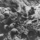 New 5x7 World War I Photo: German Dead, Dead Man's Hill in France