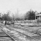 New 5x7 Civil War Photo: Confederate Railroad at Appomattox Station