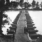 New 5x7 Civil War Photo: Pontoon Bridge Across the James River in Virginia