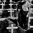 New 5x7 World War II Photo: Coast Guardsman Pay Tribute to Fallen Comrades