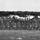 New 5x7 Civil War Photo: General George G. Meade & Staff Near Washington