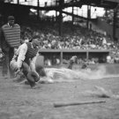 New 5x7 Photo: New York Yankee's Lou Gehrig Sliding to Home Base, 1925