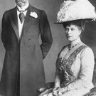 New 5x7 Photo: King George V and Queen Mary of England, 1914