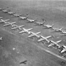 New 5x7 World War II Photo: C-47 Transport Planes at Airfield Headed for Holland