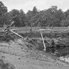New 5x7 Civil War Photo: McPherson Woods at Gettysburg, Pennsylvania