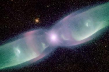 """New 5x7 Space Photo: Bi-Polar Planetary Nebula """"The Twin Jet"""""""