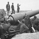 New 5x7 Civil War Photo: Big Gun and Soldiers at Fort Putnam on Morris Island