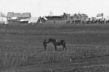 New 5x7 Civil War Photo: Camp of the U.S. Engineer Battalion at Brandy Station