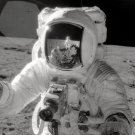 New 5x7 Photo: Astronaut Alan L. Bean Collecting Moon Soil, Apollo 12 Mission