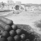 New 5x7 Civil War Photo: Interior View of Fort Moultrie on Sullivan's Island