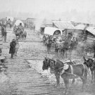 New 5x7 Civil War Photo: Camp of Union - Federal Forces at Centreville, Virginia
