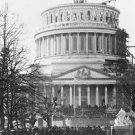 New 5x7 Photo: Inauguration of Abraham Lincoln at Capitol Building, 1861
