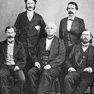 New 5x7 Civil War Photo: CSA Confederate Generals in Mexico after War