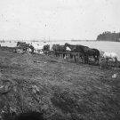 New 5x7 Civil War Photo: Camp of the 2nd New York & 1st Massachusetts Artillery
