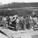 "New 5x7 Civil War Photo: ""Dictator"" 13-inch Mortar Cannon on Railroad Flatcar"