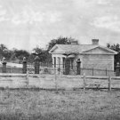 New 5x7 Civil War Photo: Entrance to Gettysburg National Cemetery, 1865